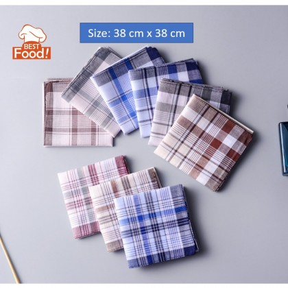 (3 PCS) Men Soft Cotton Handkerchief