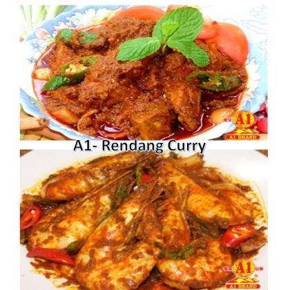 (2 PKTS HALAL) - A1 Instant (Rendang) Curry Paste